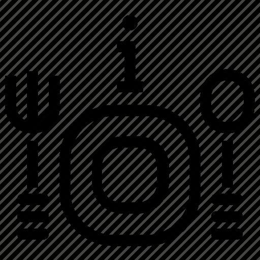 dining, info, information, restaurant icon