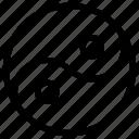 yan, yang, yin, ying icon