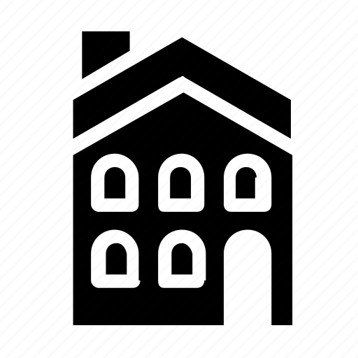 accommodation, apartment, building icon