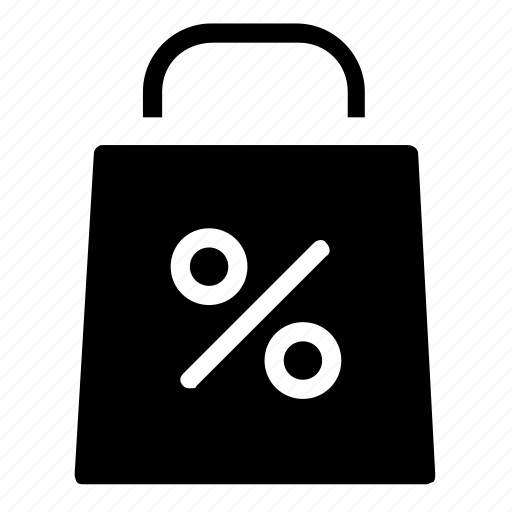bag, discount, offer, shopping icon