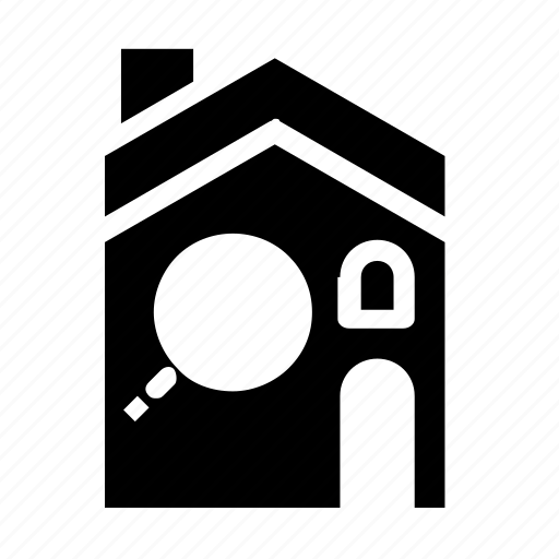 accommodation, find, house icon