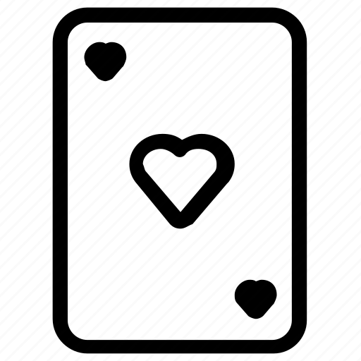 Card, gambling, game, heart icon - Download on Iconfinder