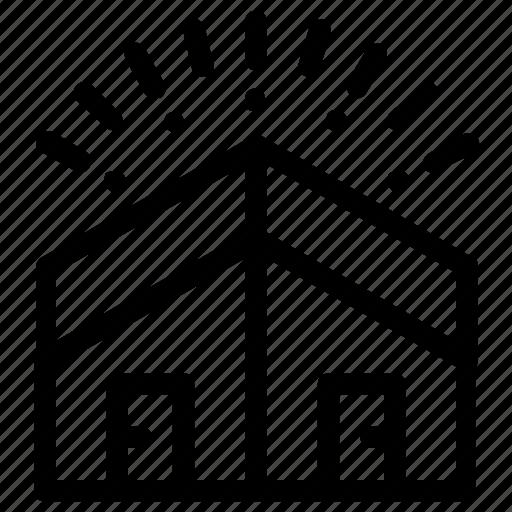 building, estate, neighbor, neighbour icon