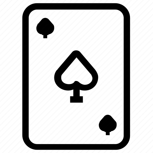 cards, entertainment, game, spades icon
