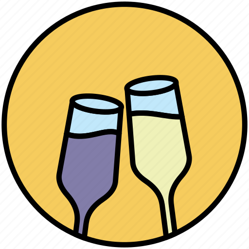 celebration, champagne, christmas, drink, honey moon, marriage, new year icon