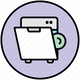 dish, dishwasher, dishwashing, home appliance, kitchen, machine, wash icon