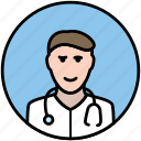doctor, health, hospital, medical, medicine, pediatrician, surgeon icon