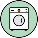 clothes dryer, clothing, dryer, hausware, home appliances, laundry dryers, washing machine icon