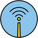 internet, net, network, wi fi, wifi, wireless icon