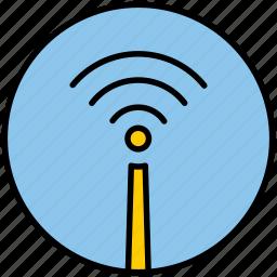 internet, net, network, wi fi, wifi, wireless icon