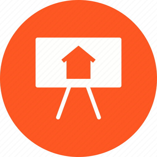 creativity, drawing, hand, home, house, sketch icon