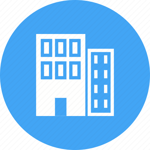 business, commercial, hotel, lobby, plaza, retail, urban icon
