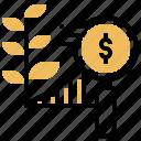 chart, growth, investment, profit, progress icon