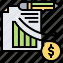 account, chart, financial, graph, loss