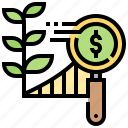 chart, growth, investment, profit, progress icon