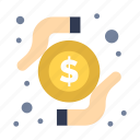 card, money, research, transaction icon
