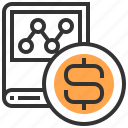 accounting, business, cash, currency, dollar, finance, money icon