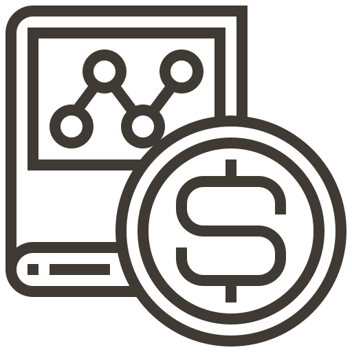 accounting, book, cash, coin, currency, finance, money icon
