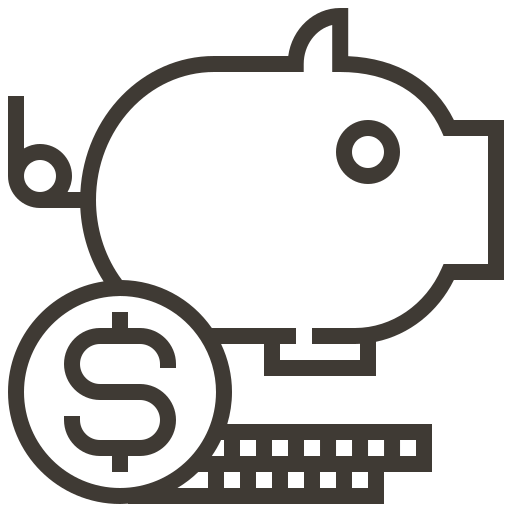 accounting, cash, currency, finance, financial, money, saving icon