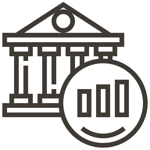 accounting, banking, cash, currency, finance, graph, money icon
