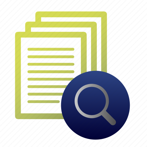 accounting, document, find, finding, lodge, mathematics, search icon