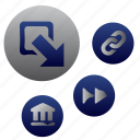 accounting, bank, calculation, credit, finance, lodge, payment icon