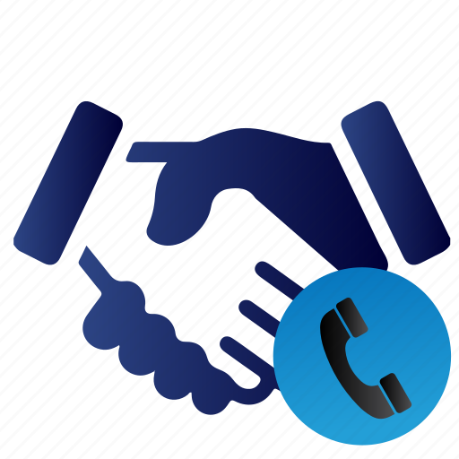 accounting, call, customer, deal, phone, support, telephone icon