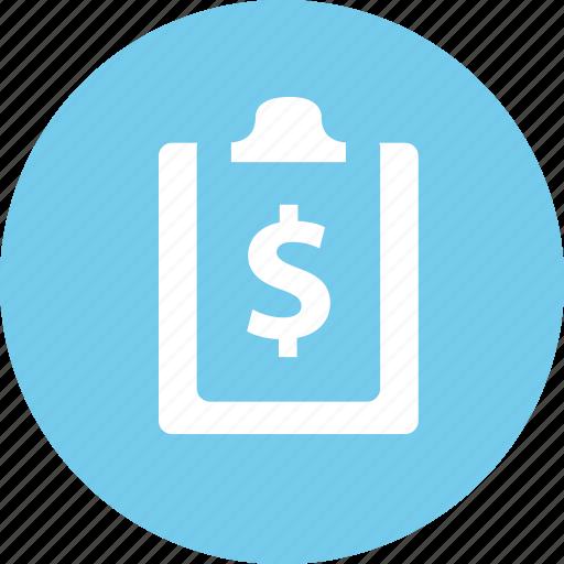 bill, billing, invoice, receipt icon