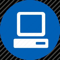computer, laptop, pc icon