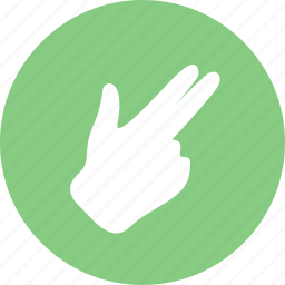 fingers, hand, touch icon