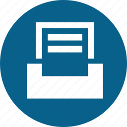 inbox, letter, letters, mail, message icon