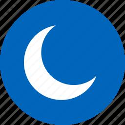 moon, sleep, sleeping, slumber icon