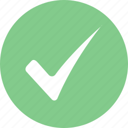 allow, approve, approved, confirm, ok, okay, success icon