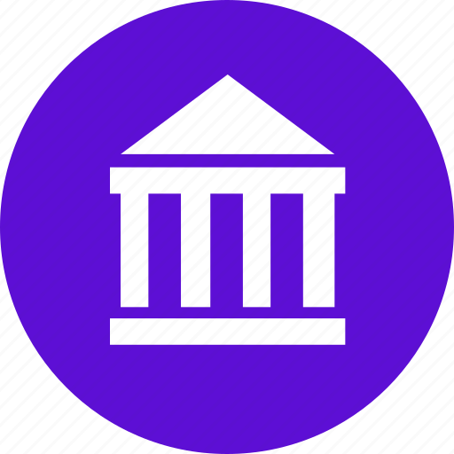 bank, building, finance, organization icon