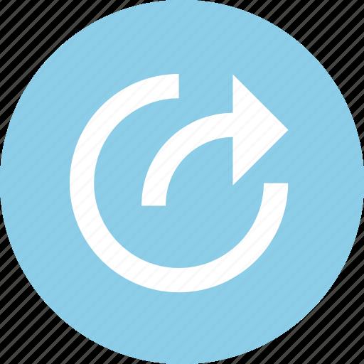 foward, share, sharing, social icon