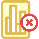 data, delete icon