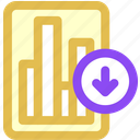 data, download icon