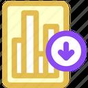 data, download icon