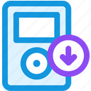 download, music icon
