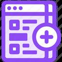 bookmark, duplicate icon