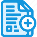 document, duplicate icon