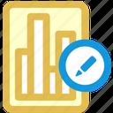 data, edit icon