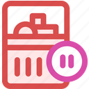 pause, purchase icon
