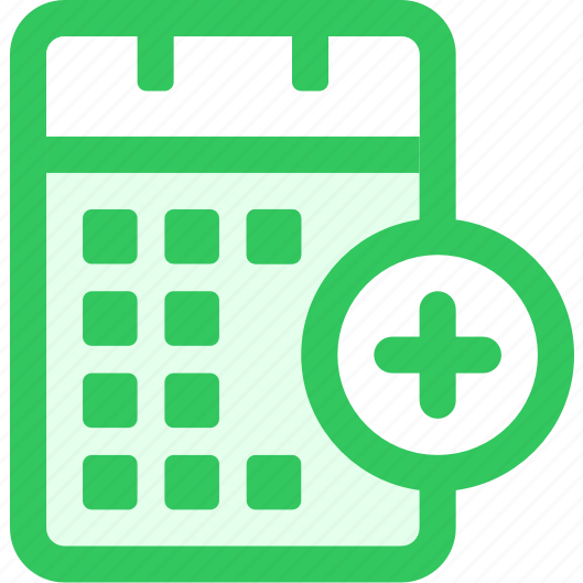 Blank Calendar Icon Green : Iconfinder acticons by loveui