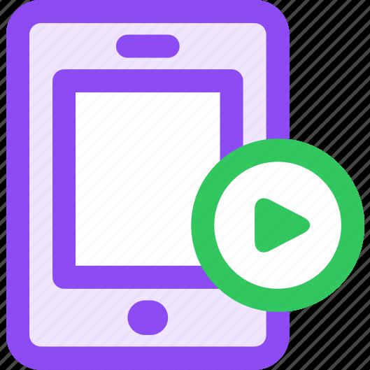 continue, mobile, sync icon
