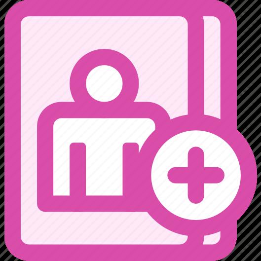 duplicate, user icon