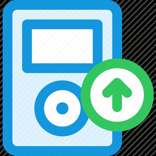 music, upload icon