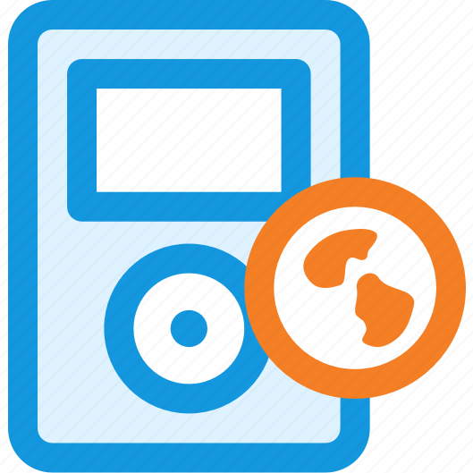 link, music, web icon