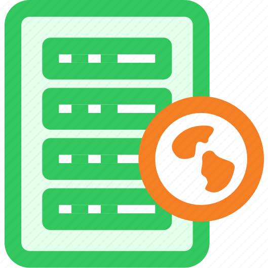link, server, web icon