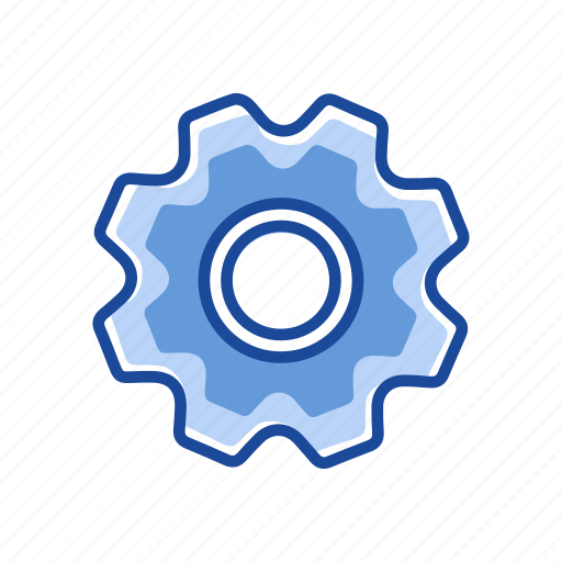 edit tool bar, gear, notification, settings icon
